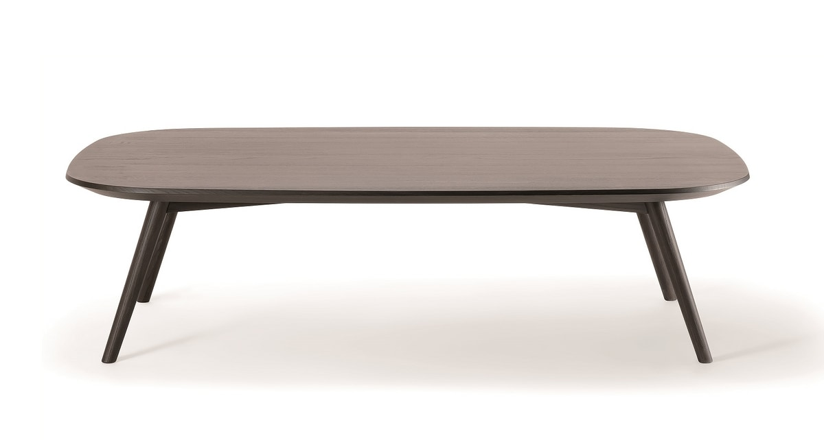 HER COFFEE TABLE 041 GH 40, Low table in solid wood
