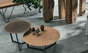 Joy wood, Coffee tables with round wooden top