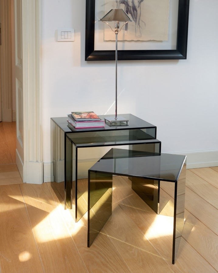 Liam 510, Glass coffee tables