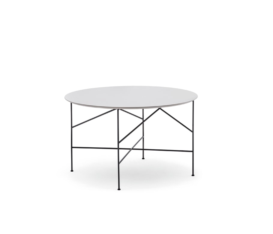 Line 702TD - 702L - 702M, Round coffee table with customizable top