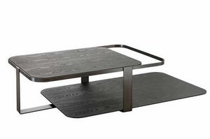 Montecarlo coffee table, Coffee table with two tops