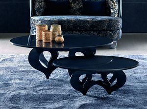 Pablito Art. 318-RO3, Coffee table with oval top