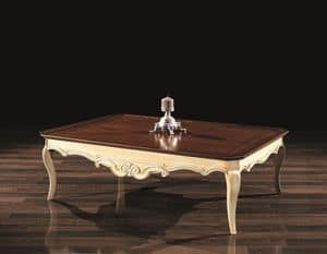 PATRIK small table 8683T, Decorative small table, in wood, with classic style