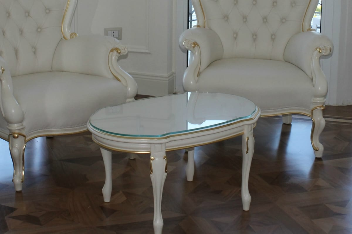 Re Sole, Contemporary baroque coffee tables