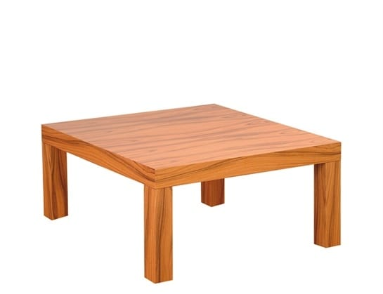 Silva 907, Square coffee table in wood