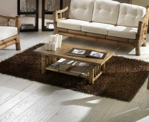 Small table Kona, Rectangular coffee table in bamboo