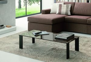 t119 atlantique, Half-moon or rectangular coffee table