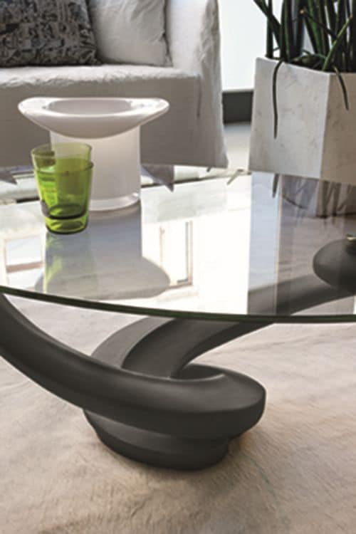 TANGO TL205, Coffee tables with glass top suited for living room