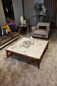 TETI Coffee tables, Coffee tables with Dover White marble top