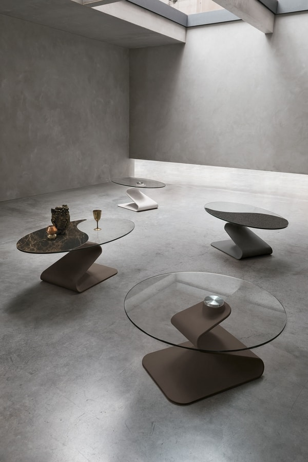 ZED TL403, Coffee table with zed-shaped base