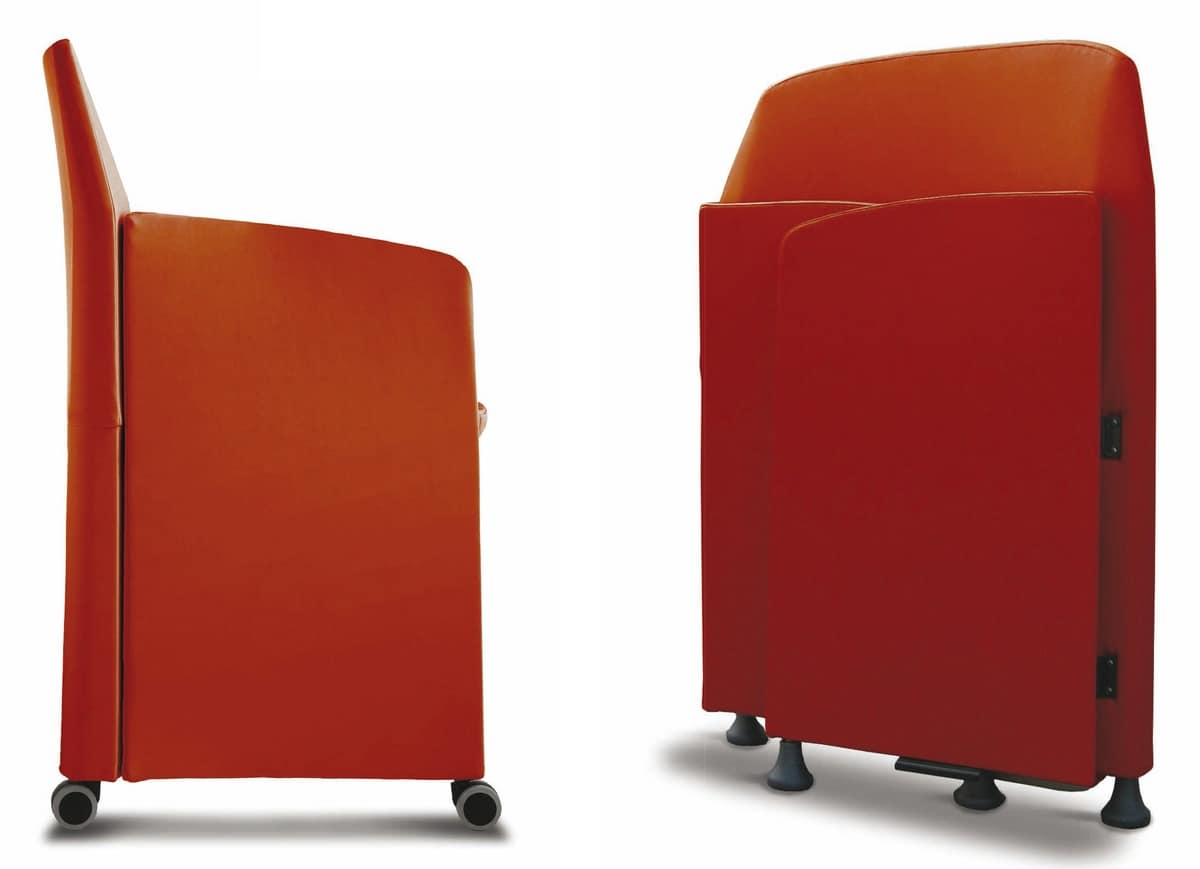 Meeting, Chair with contained dimensions for meeting rooms