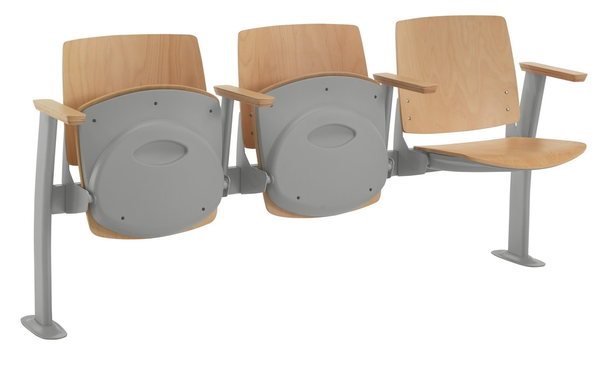 Q44 TIP-UP, Seat with folding seat for classrooms