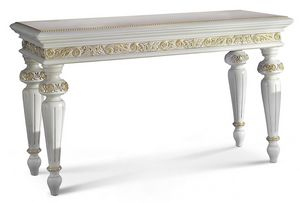 4053, Classic console table with tapered legs