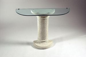 Alice, Classic style console table with column base