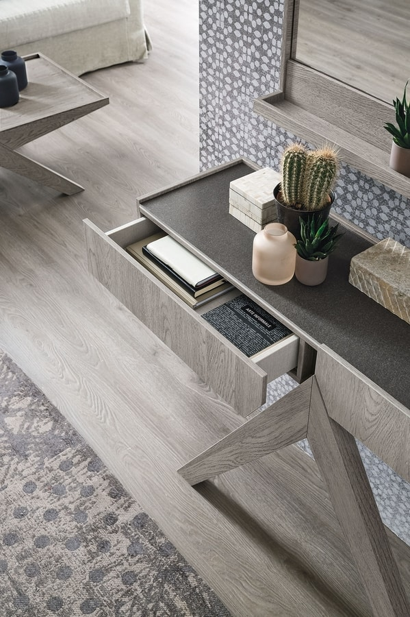 ARROW CO510, Laminate console with two drawers
