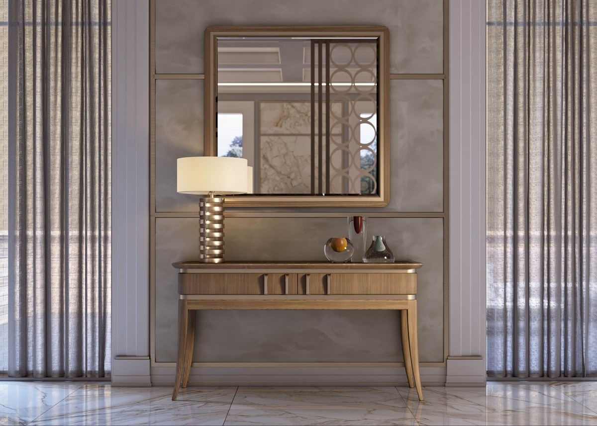 Art. 5020, Console table with Emperador marble top
