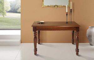 Art. 80, Wooden console, convertible into a large table