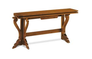Art. 82, Wooden console table convertible into a table
