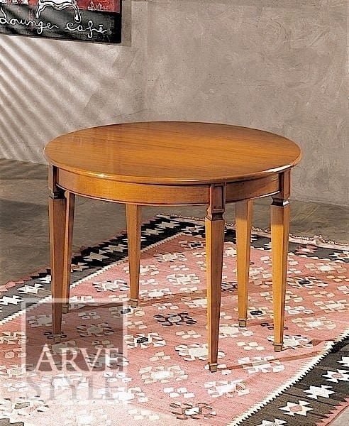 Canaletto console, Console transformable into an oval table