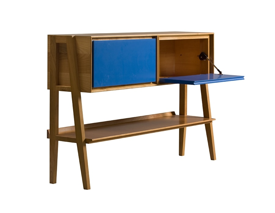 Cavalletto 5818, Console with container