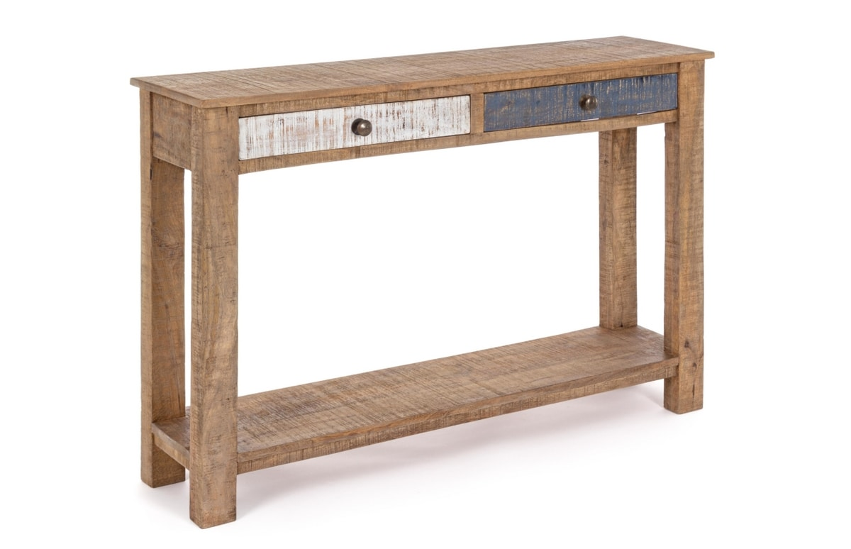 Console 2C-1P Modez, Rustic console with drawers