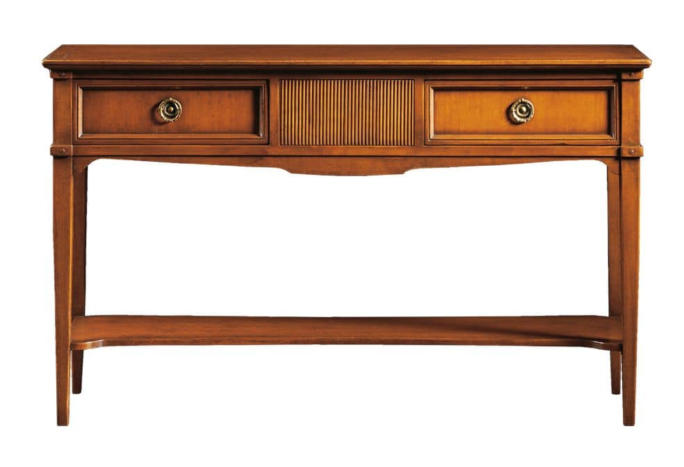 Corinne FA.0002, Console with 2 drawers, Louis XVI style