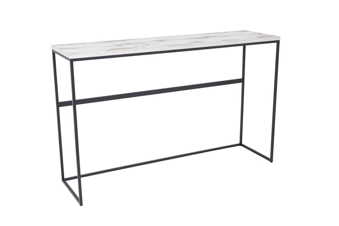 Art.Dalì console, Console in painted metal, for modern houses