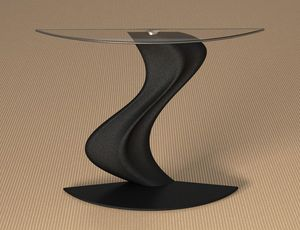 Diana, Console with glass top
