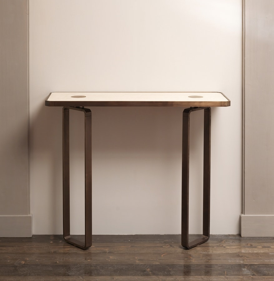 DOMINO HF2076CO, Brass console table