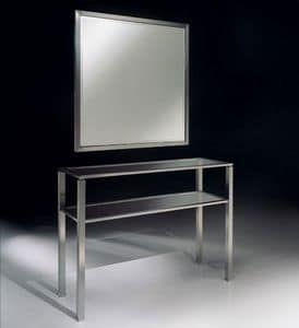 DOMUS 2190 CONSOLE, Modern console in metal for living room