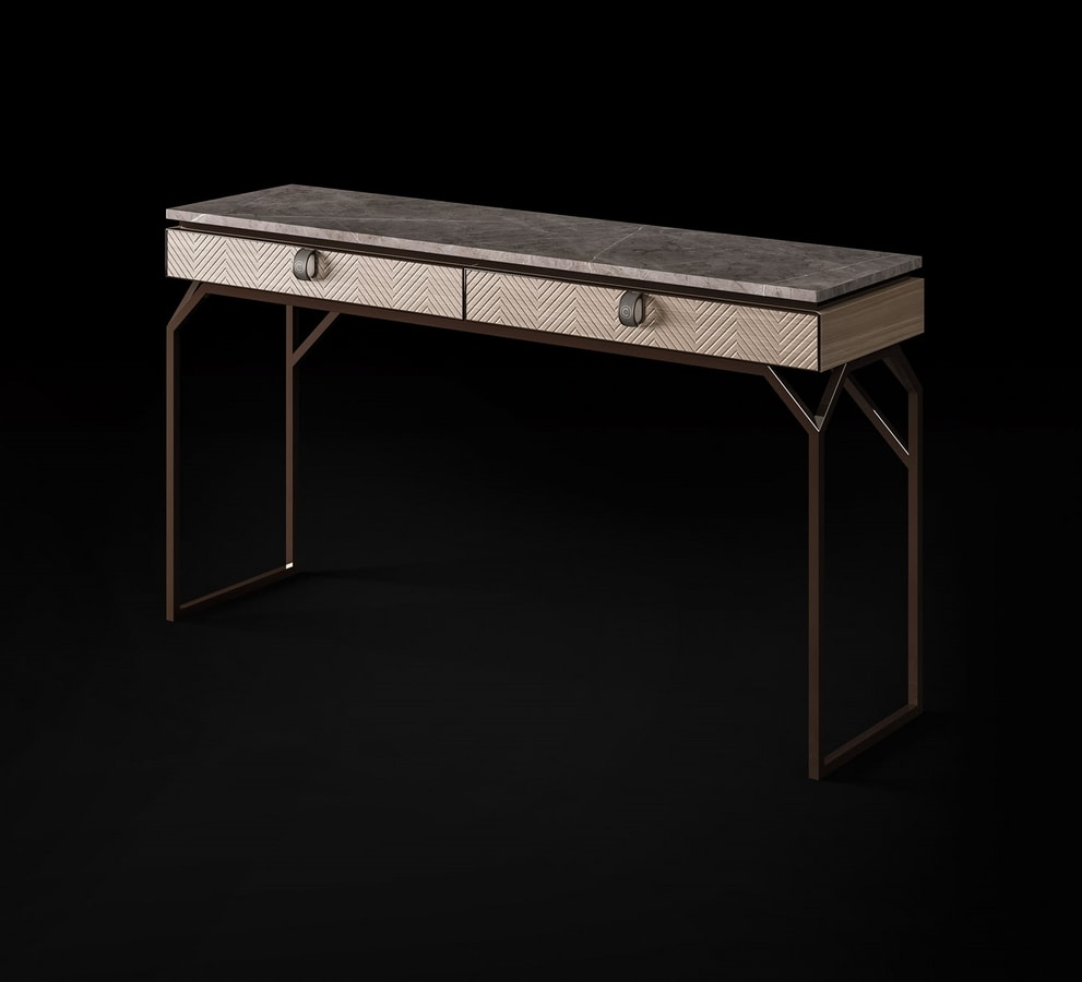 Dragonfly Art. D628, Console with marble top
