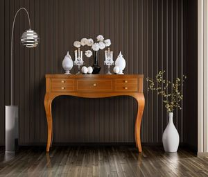 Elegant 5C console, Wooden console with 5 drawers