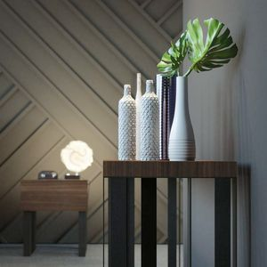 Ironwood console, Eucalyptus wood console table