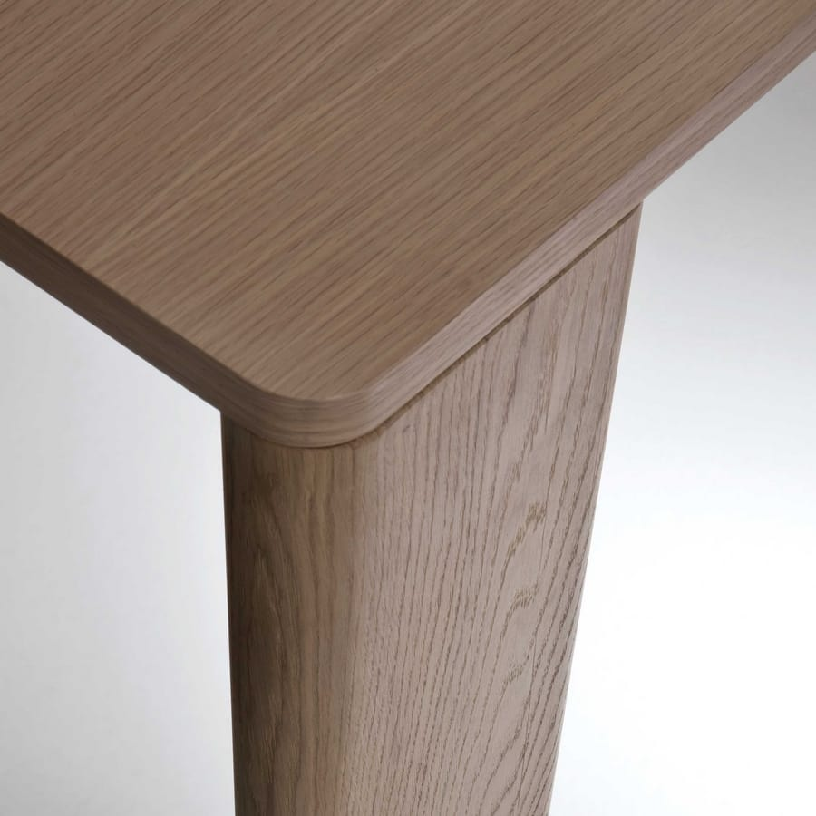 Keel console, Wooden console, elegant and essential design