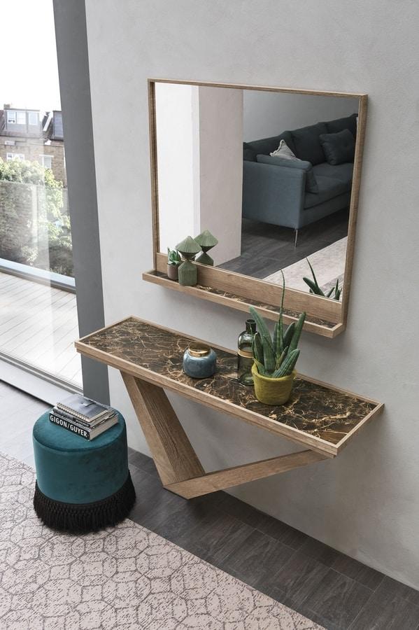 KIRA CO508, Rectangular wooden console