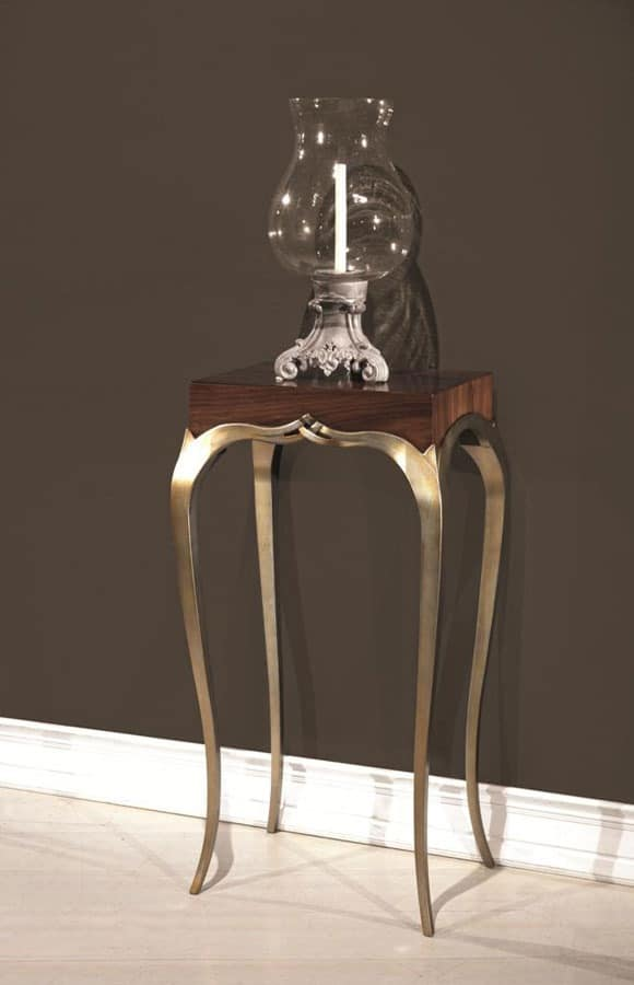 LOVE consolle 8675K, Console lamp-holder, with refined style, for hotel