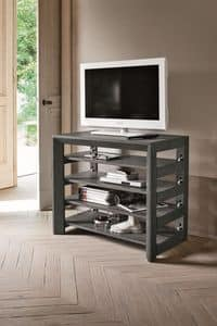 LUNA CO501, Extensible console in wood for modern apartment