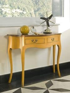 NEMESI Art. 3800, Consoles in lacquered wood, classic style, for the hall