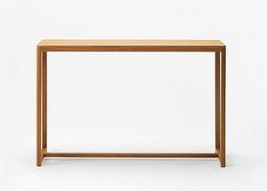 Seleri console, Minimal wooden console