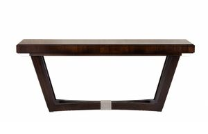 Vendome console, Elegant solid wood console