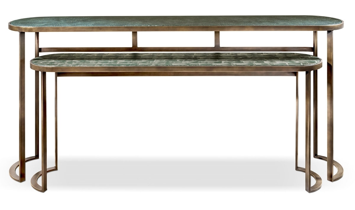 Venezia console, Console with rounded shapes