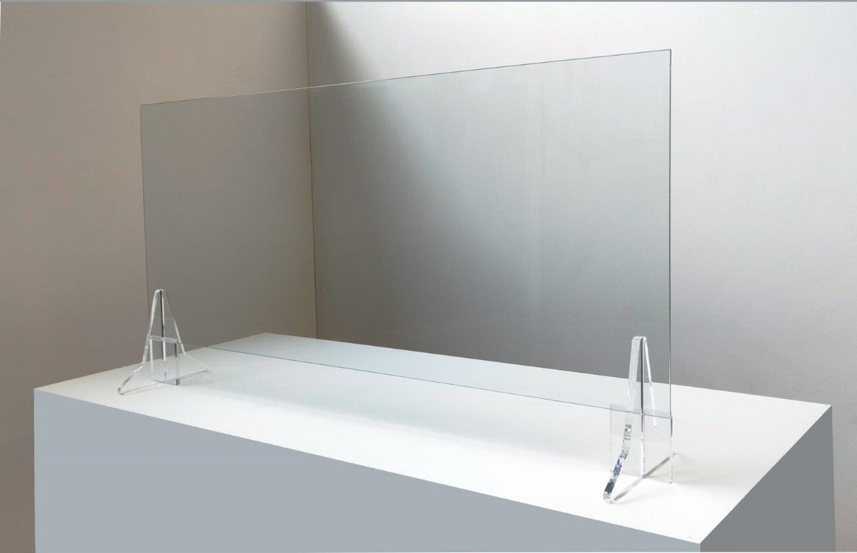 Clearvirus BA/120, Protective panels for shop counter
