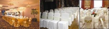 Cover, Chaircovers tailored to catering, ceremonies and banquets