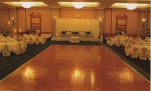 Dancefloor, Movable dancefloor, easily mountable