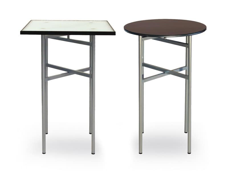 BuffetCube - Cocktail, Tables transportable with carts for hotels and catering