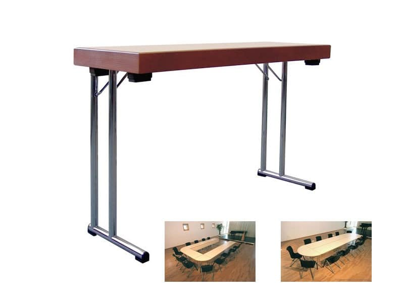 Folding Table For School Meeting Room Or Canteen IDFdesign - Portable conference table