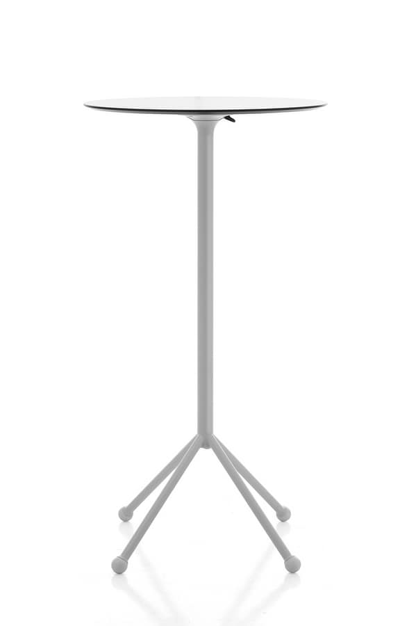 Kaleox 104 folding top, High bar table with folding top