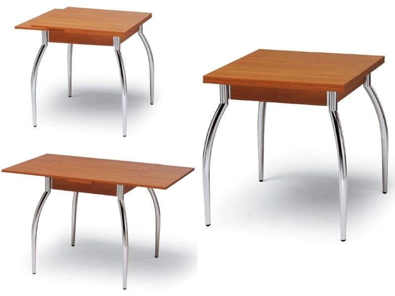 Kot 70x70, Extendable table Living room