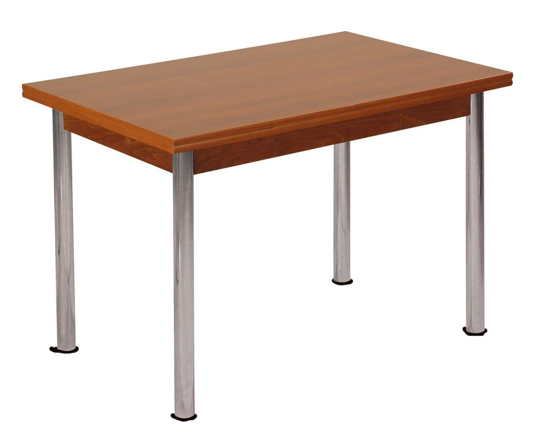 TA31, Rectangular table in beech, laminated top