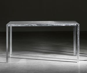 TA52, Rectangular table in galvanized steel